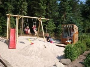 Spielplatz Ferienhaus